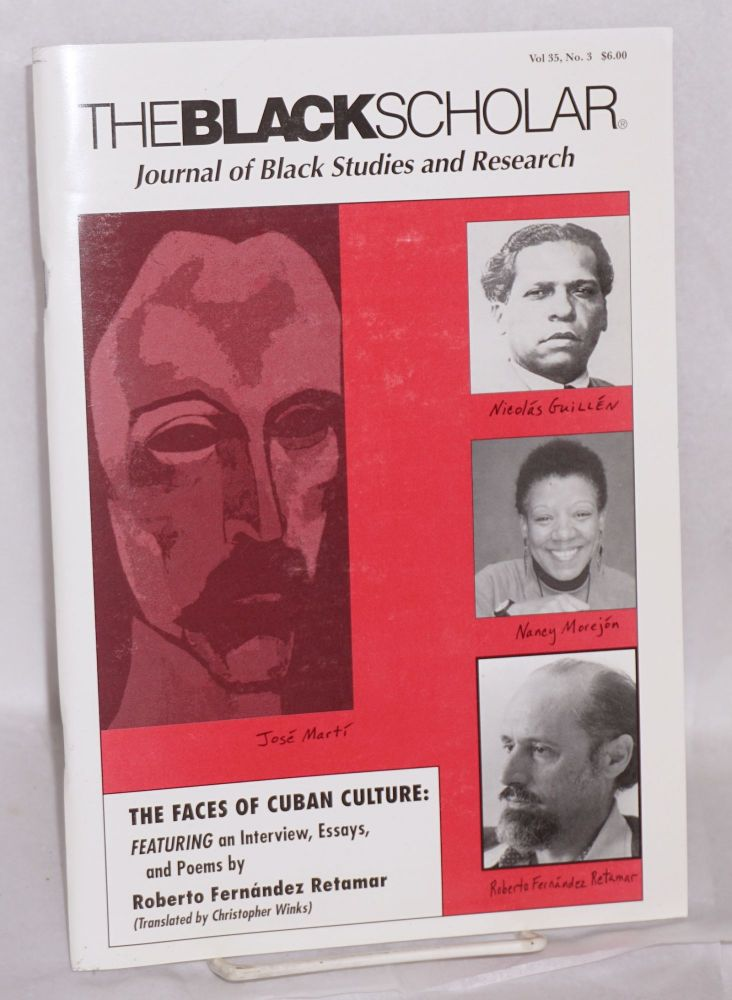 The Black Scholar Journal of Black Studies and Research; Volume 35, number 3, Fall 2005. Robert Chrisman, , in chief, publisher.