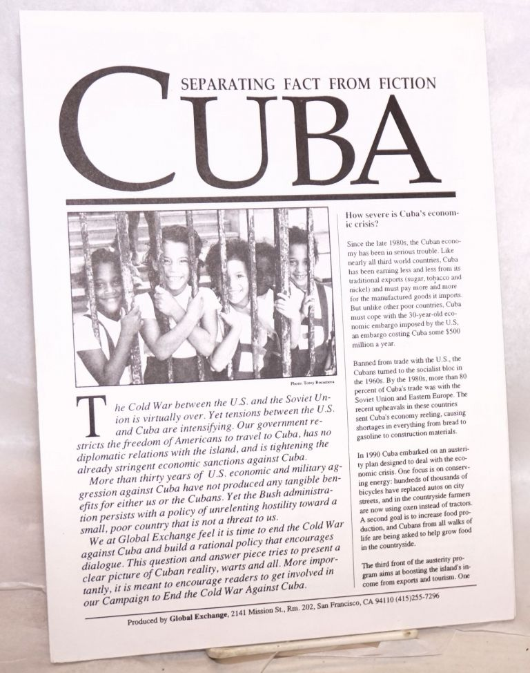 Cuba: separating fact from fiction. Medea Benjamin, Kevin Danaher.
