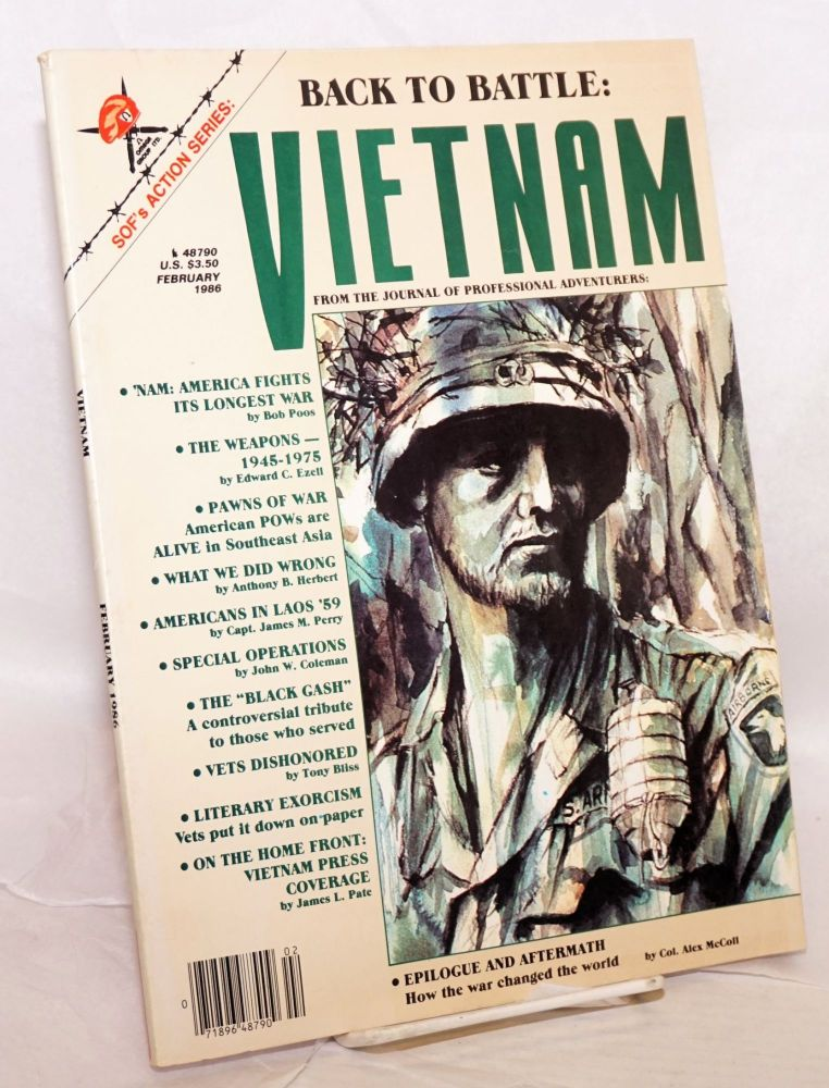 Soldier of Fortune's Action Series: Vietnam; volume II, issue 1, February/86. Robert K. Brown.