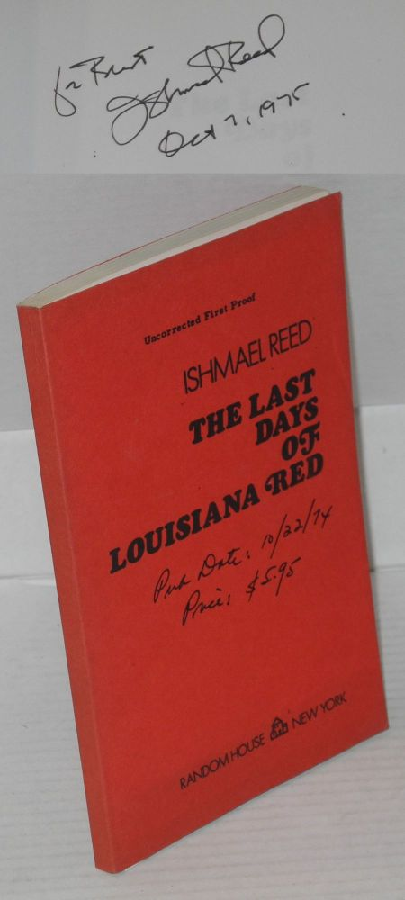 The last days of Louisiana Red. Ishmael Reed.