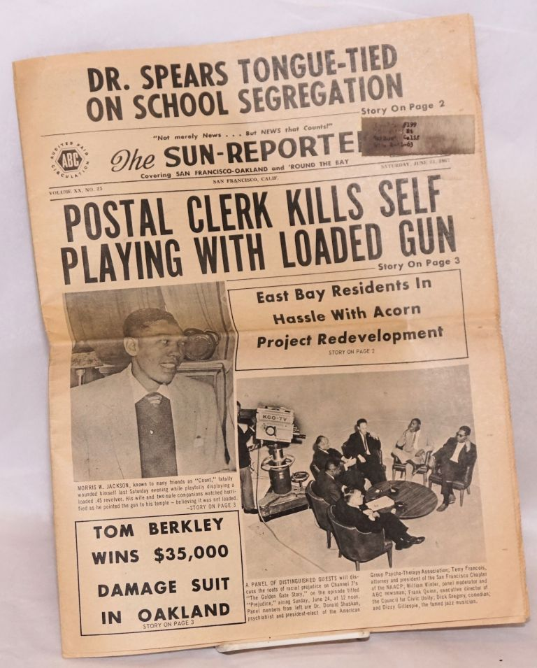 The Sun-Reporter. Covering San Francisco-Oakland and 'round the Bay. Vol. XX no. 25 (June 23, 1962)