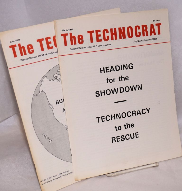 The Technocrat: vol. 41 numbers 249 & 250, March and June 1974 [two issues]