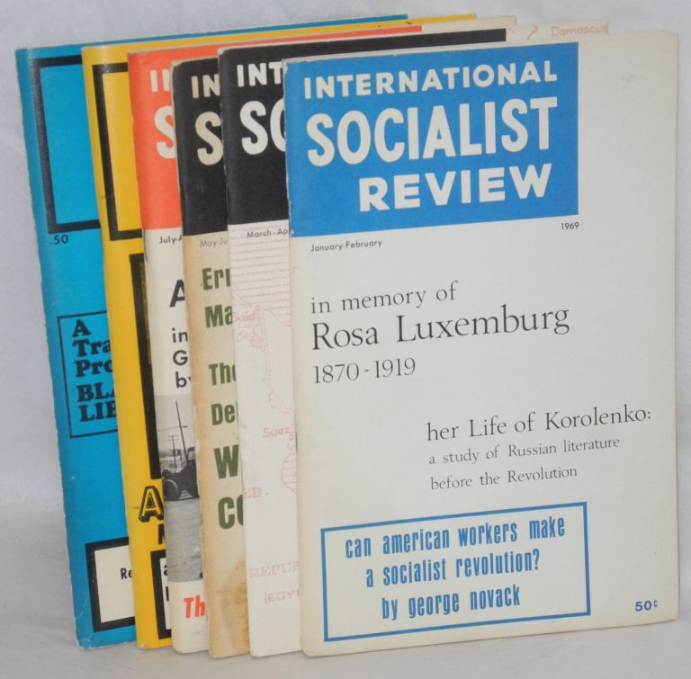 International Socialist Review. [all six issues for 1969]