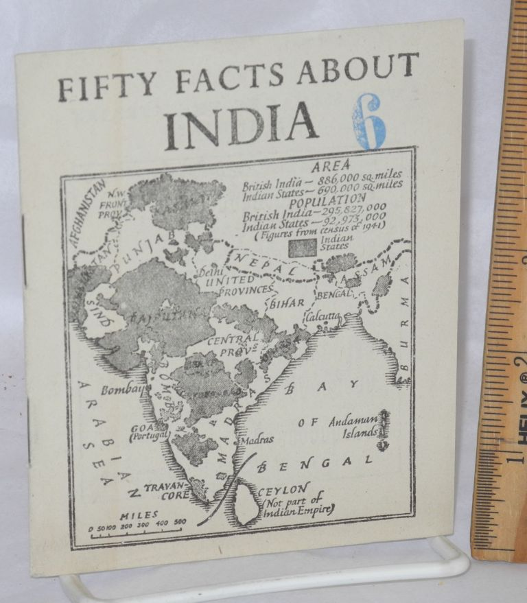 Fifty facts about India. British Information Services.