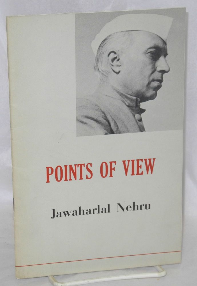 Points of View. Jawaharlal Nehru.