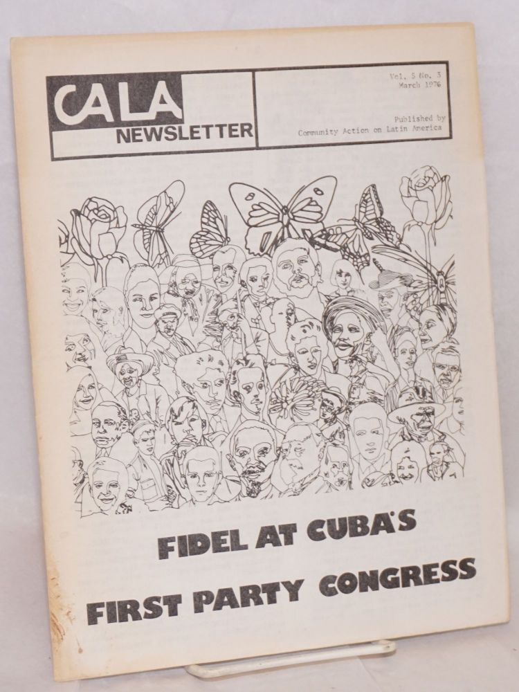 CALA Newsletter. Vol. 5 no. 3, March 1976