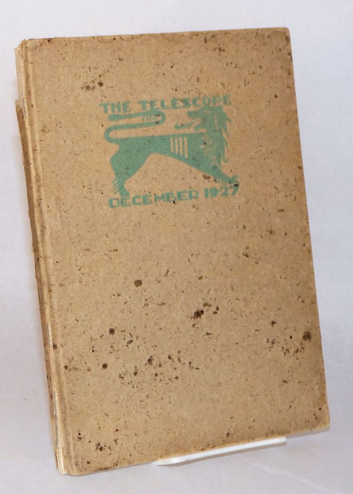 The Telescope, December 1927 A Record of the School Term for the Fall of Nineteen Twenty-Seven at Galileo High School, San Francisco, California. yearbooks.