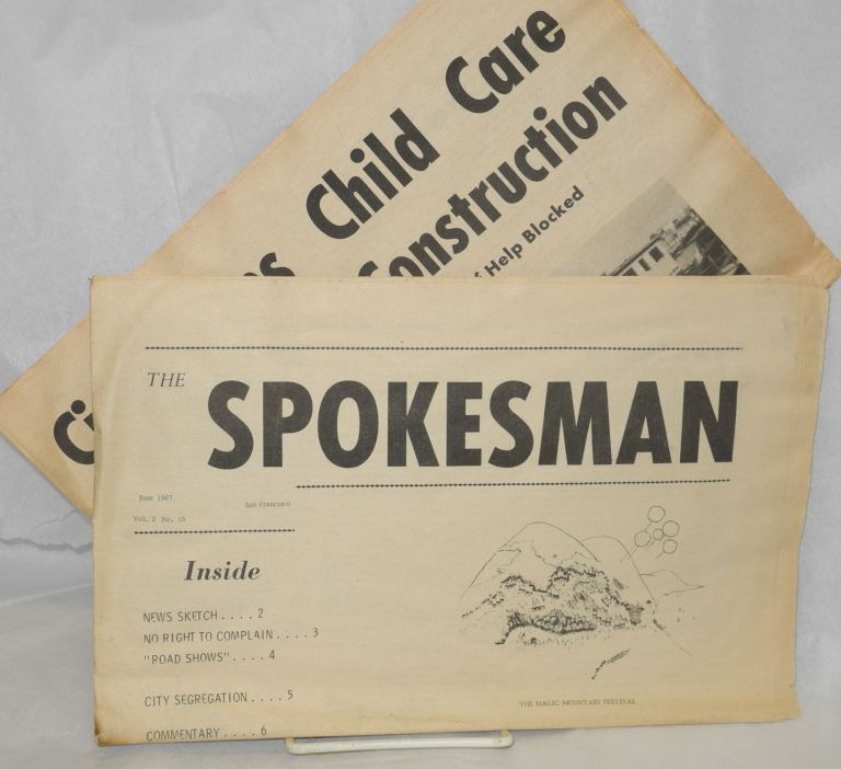 The Spokesman. [two issues: June and July 1967]