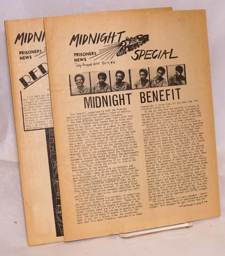 Midnight special: prisoners news. [two issues]
