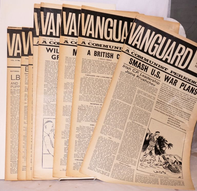 Vanguard. [9 issues]. for Communist Unity Committee to Defeat Revisionism.