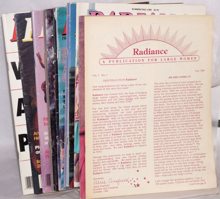 Radiance: a publication for large women. [15 issues]