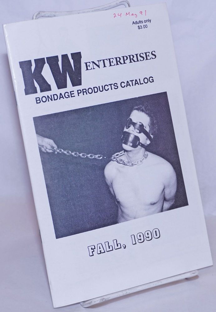 Bondage Products Catalog Fall 1990. KW Enterprises.