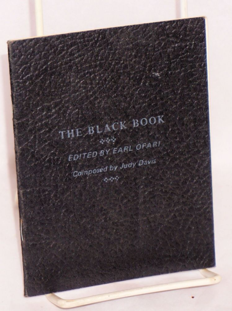 The Black book; composed by Judy Davis. Earl Ofari, ed.