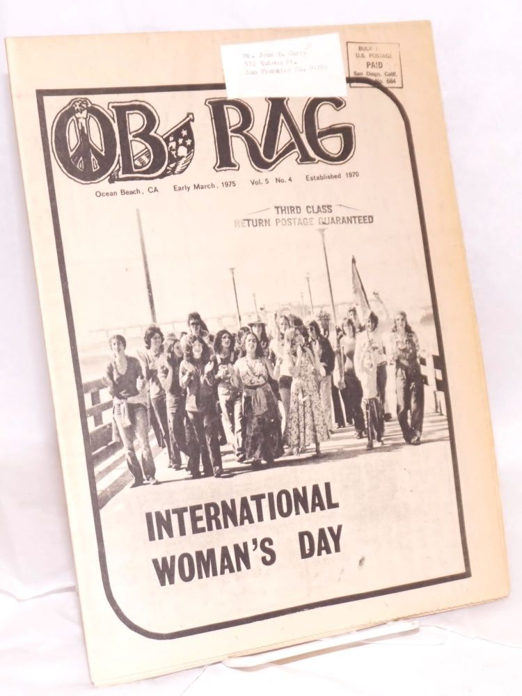 OB People's Rag; Vol. 5 no. 4 (Early March, 1975)