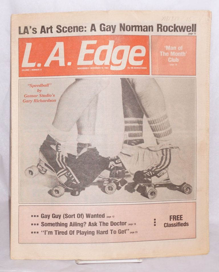 L. A. Edge (aka Edge magazine) volume 1, number 12, Nov. 2-16, 1983