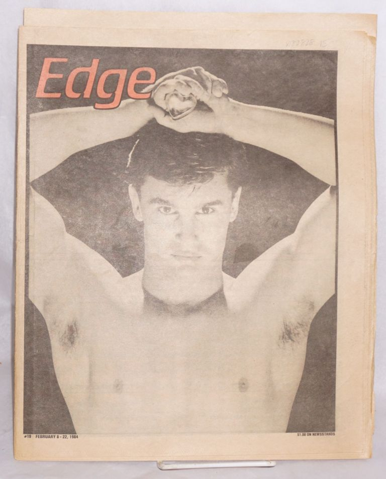 Edge magazine (aka L.A. Edge) vol. 1, #19, Feb. 8-22, 1984