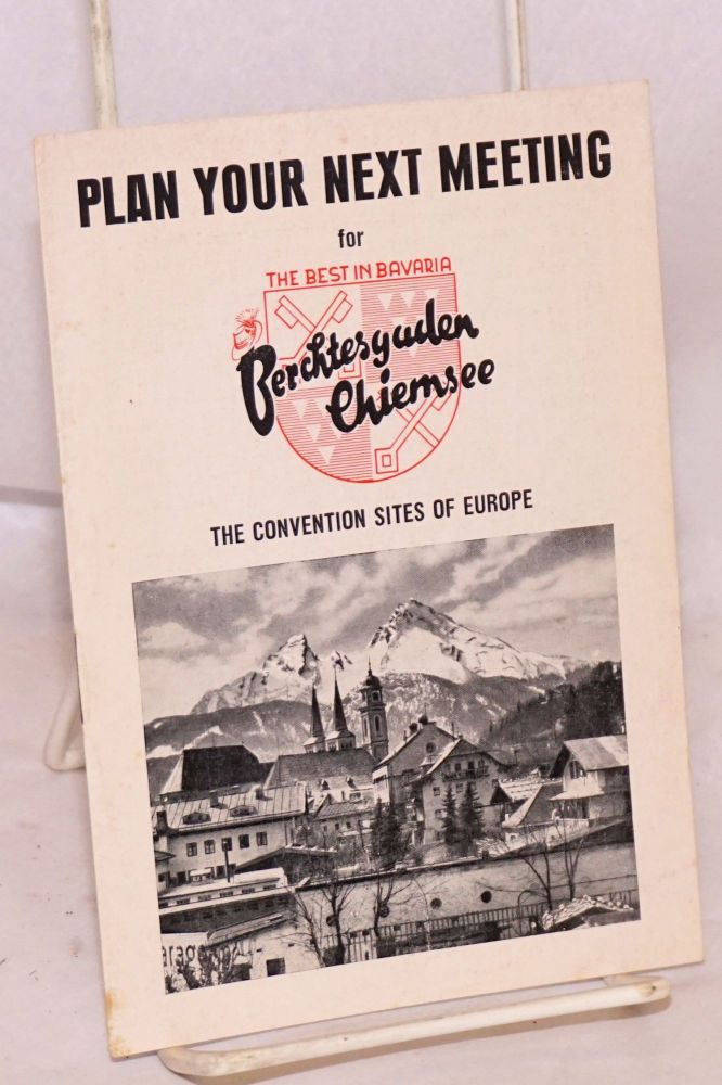 Plan your next meeting for Berchtesgaden Chiemsee The convention sites of Europe