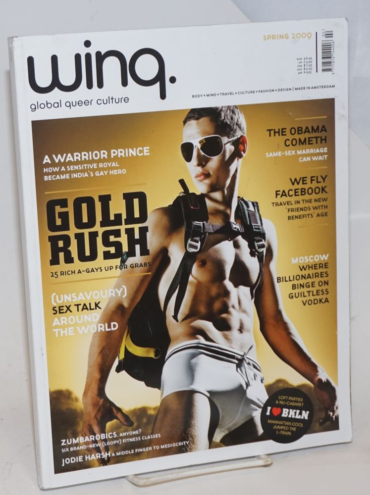 Wing: global queer culture, Spring 2009