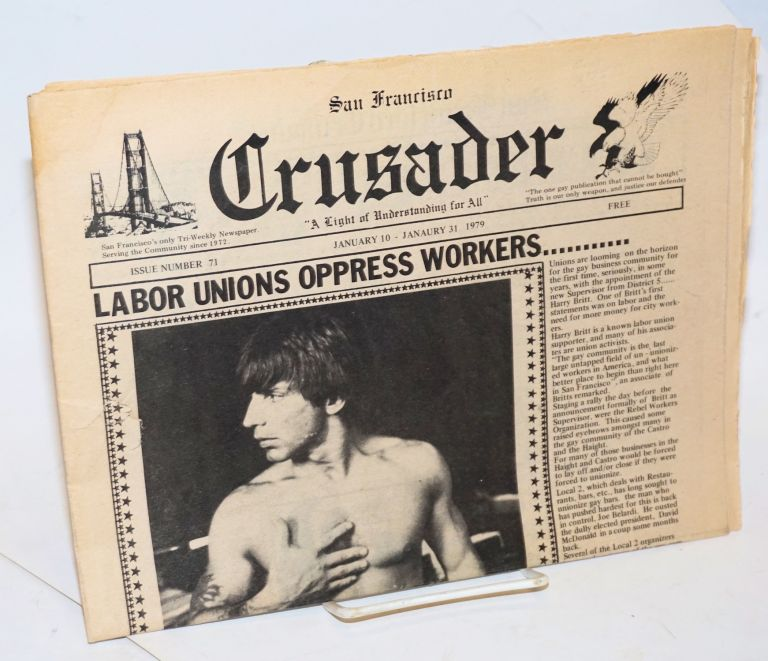 San Francisco crusader: no. 71, January 10-January 31 1979. Reverend Ray Broshears.