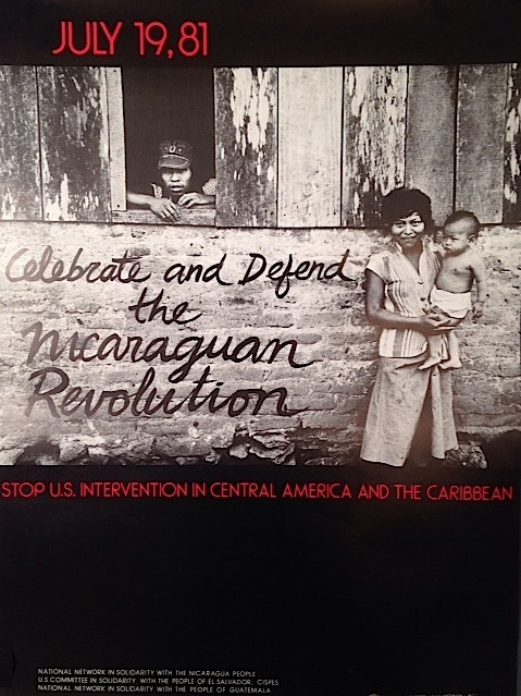 July 19, 81 / Celebrate and Defend the Nicaraguan Revolution / Stop U.S. Intervention in Central America and the Caribbean [poster]