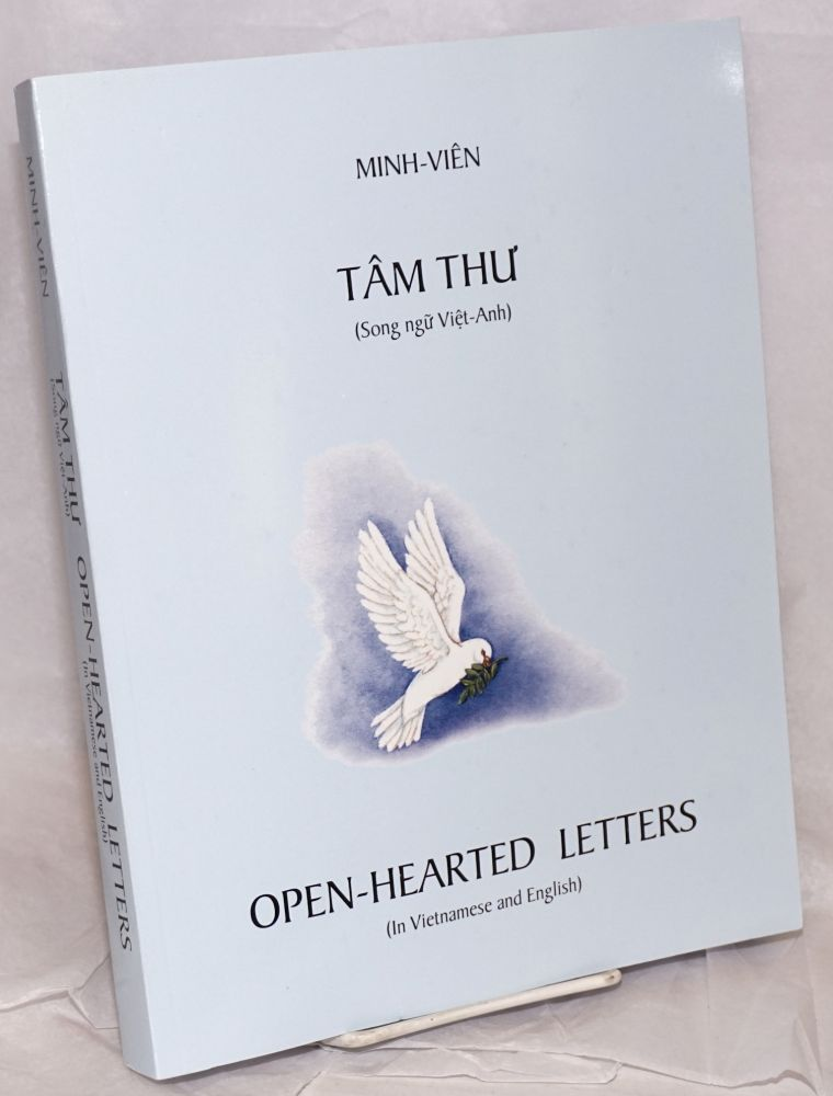 Tâm thu' (song ngu Viet-Anh) / Open-hearted letters (in Vietnamese and English). Minh Viên.