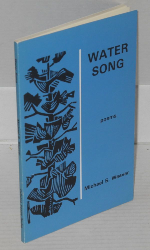 Water song, poems. Michael S. Weaver.