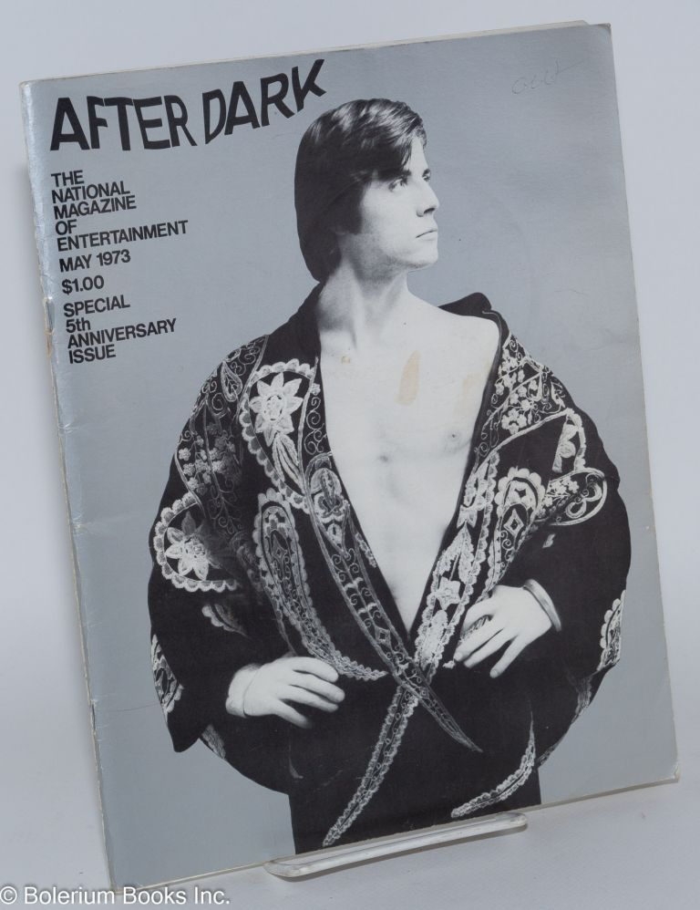 After Dark: magazine of entertainment vol. 6, #1, May 1973; Special 5th Anniversary Issue. William Como, Gary Glitter Christopher Walken, Truman Capote.