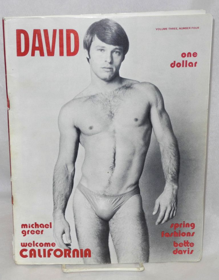 David; vol. 3, #4, March 1973. Henry C. Godley, Fred Alexon Michael Nordstrom, Mr. Marcus, Lou Stammer, R. C. SVallarian, Robert Bentley.