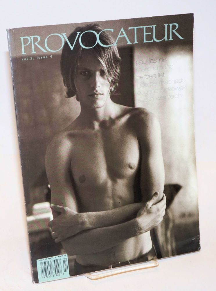 Provocateur; volume 1, issue 4. Paul Jasmin, Herbert List, Marc Almond.