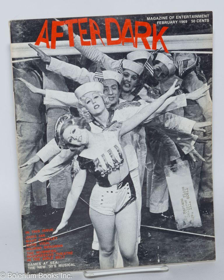 After Dark: magazine of entertainment vol. 10, #10 February 1969 (states January number 9, actually volume 1 #10 of this incarnation of the magazine)