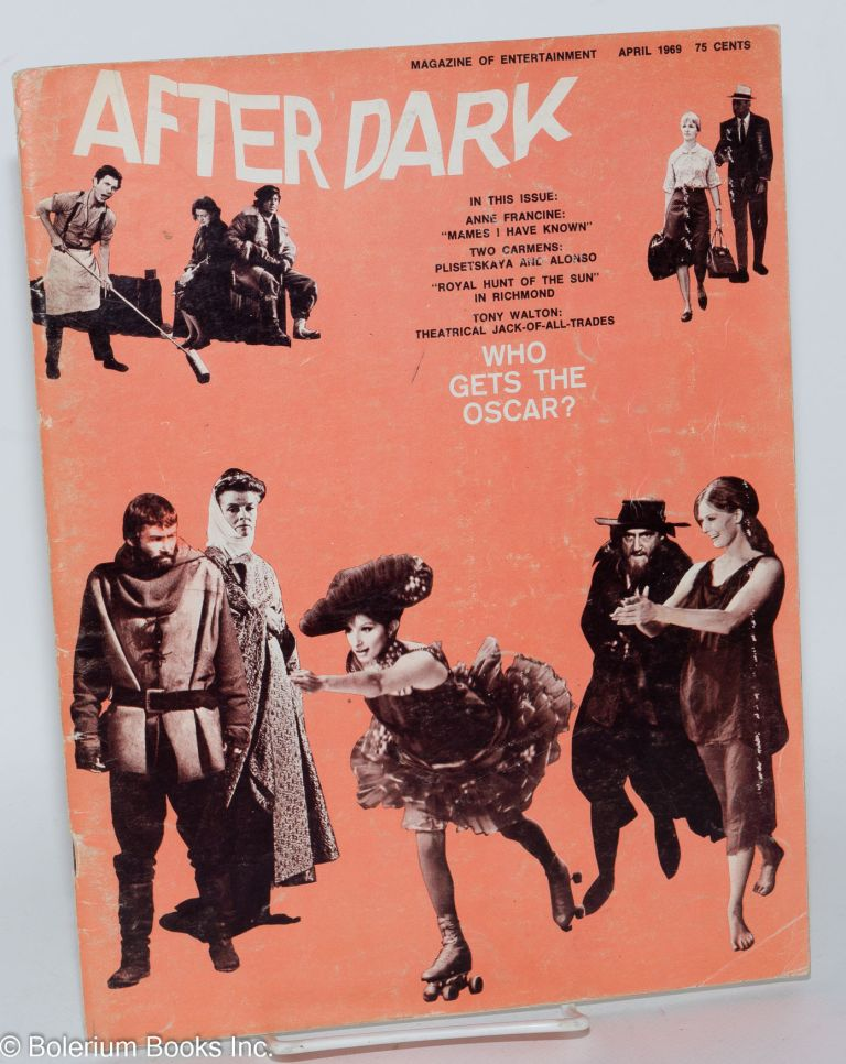 After Dark: magazine of entertainment vol. 10, #12 April 1969 (actually volume 1 #12 of this incarnation of the magazine)