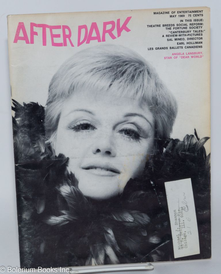 After Dark: magazine of entertainment vol. 11, #1 May 1969 (actually volume 2 #1 of this incarnation of the magazine)