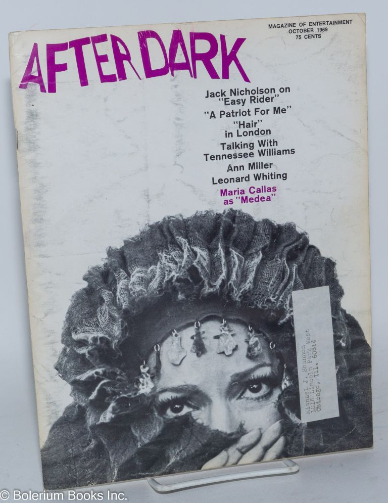 After Dark: magazine of entertainment vol. 11, #6 October 1969 (actually volume 2 #6 of this incarnation of the magazine)