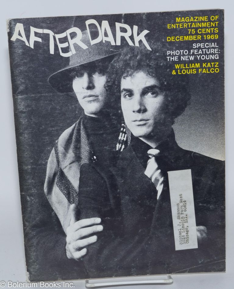 After Dark: magazine of entertainment vol. 11, #8 December 1969 (actually volume 2 #8 of this incarnation of the magazine)