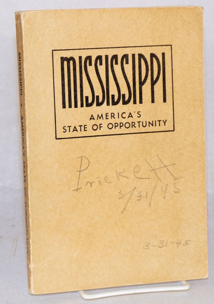 Mississippi America's State of Opportunity