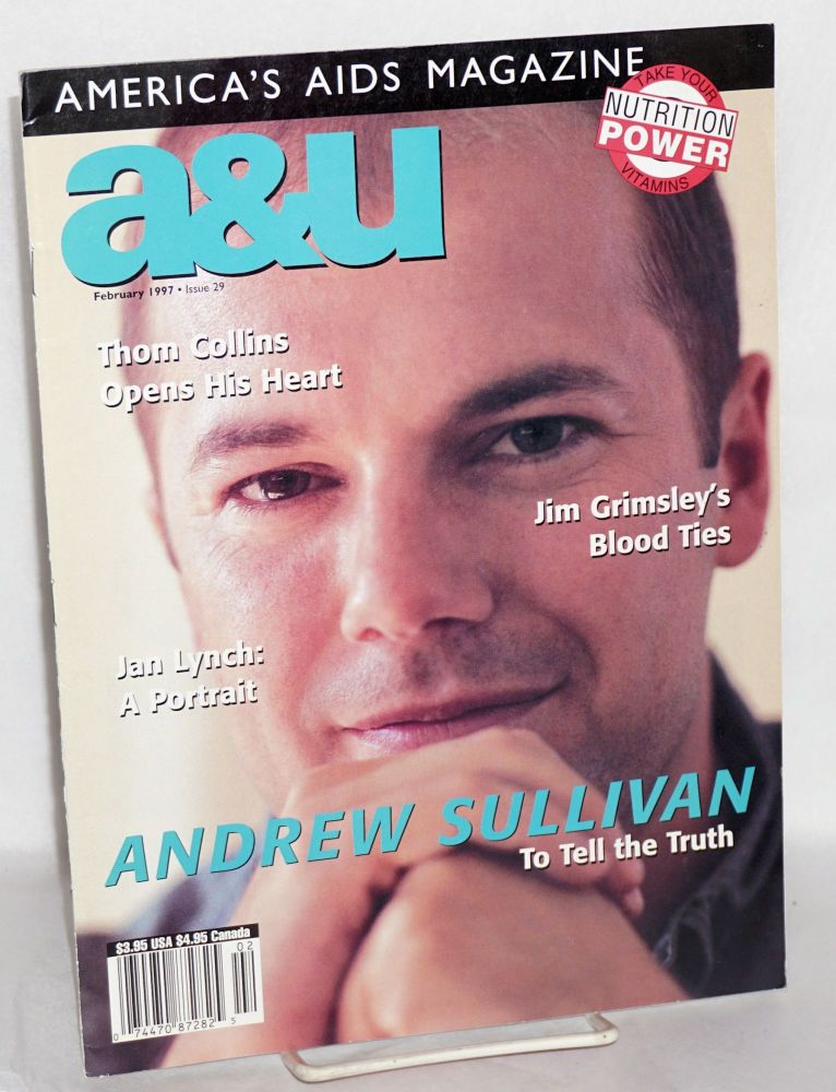 A & U: America's AIDS magazine; vol. 6, #2, issue #29, February 1997