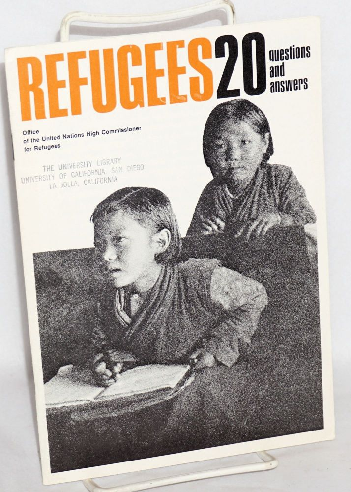 Refugees; 20 Questions and Answers. Office of the United Nations High Commissioner for Refugees.