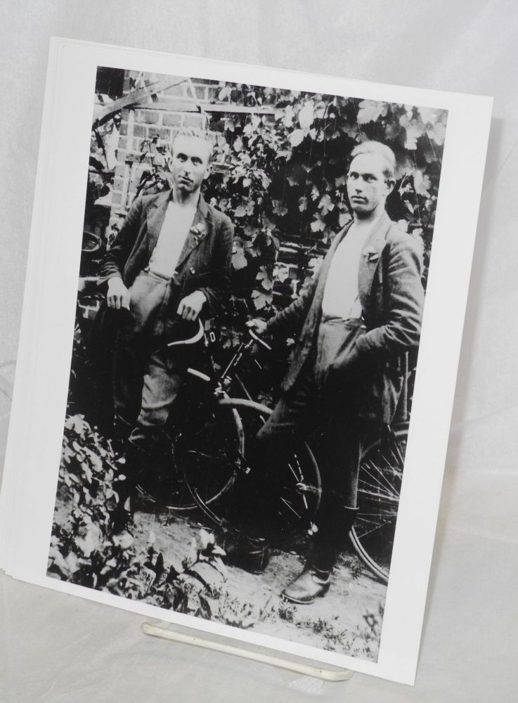 Six reprints of b&w photos depicting gay life in pre-WW II Germany