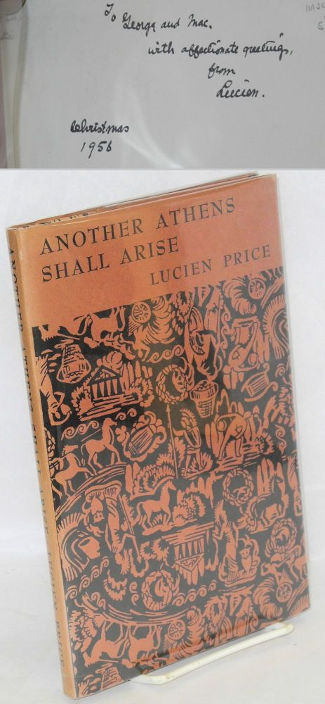 Another Athens shall arise [Olympians in Homespun & Midwestern Man]. Lucien Price.