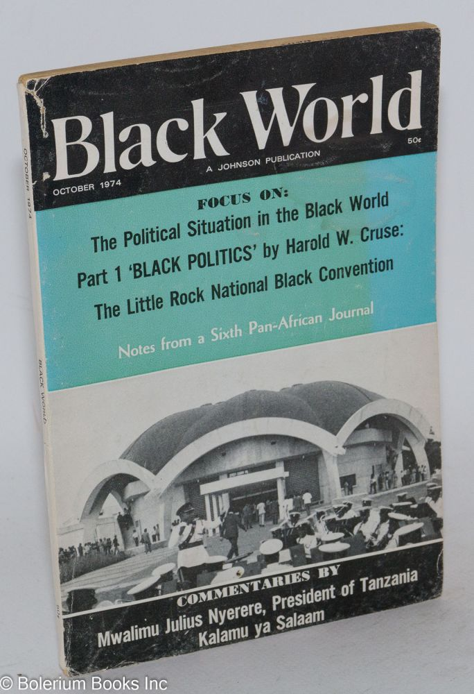 Black World; October 1974