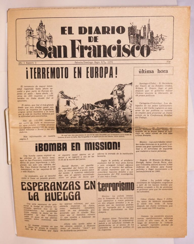 El diario de San Francisco. Vol. 1 no. 3 (May 8/9, 1976)