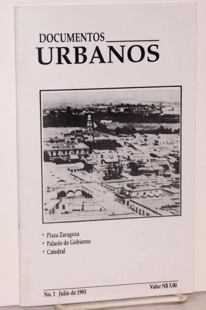 Documentos urbanos: #1, Julio 1993