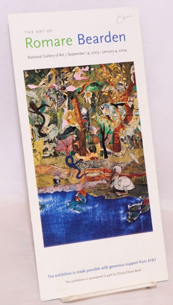 The art of Romare Bearden: National Gallery of Art, September 14, 2003 - January 4, 2004 [program]. Romare Bearden.