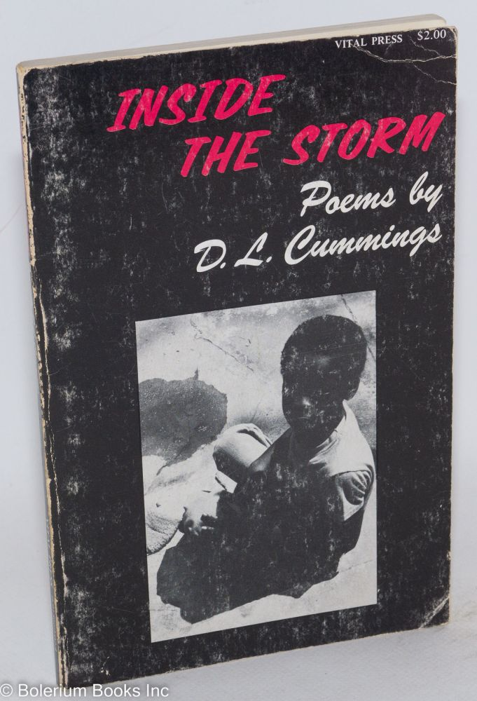 Inside the storm: poems and photographs. D. L. Cummings.