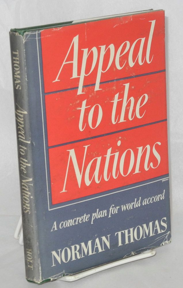 Appeal to the nations. Norman Thomas.