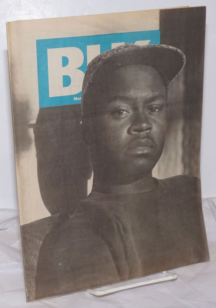 BLK: the national black lesbian and gay newsmagazine, vol. 2, #2, whole number 15, February 1990. Alan Bell, , and publisher.