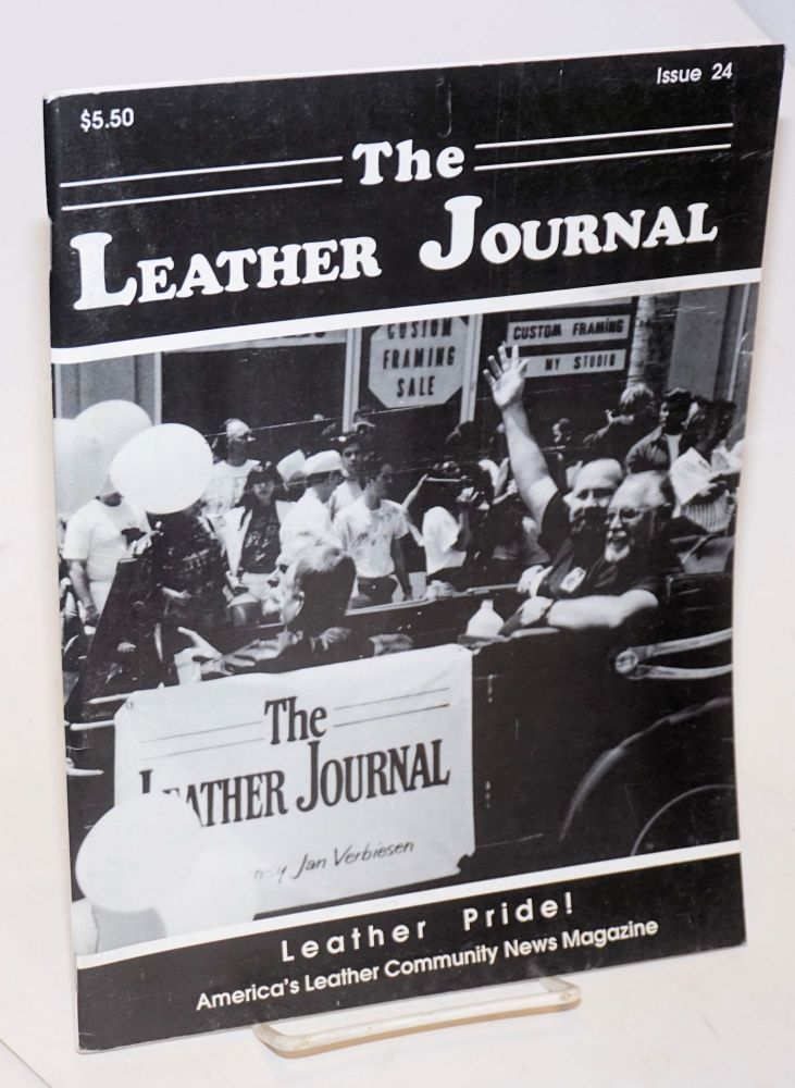 The leather journal: America's leather community news magazine issue 24 August 1991. Dave Rhodes, , and publisher.