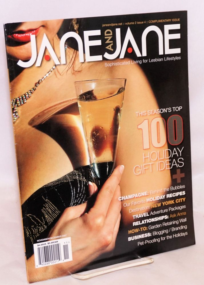 Jane and Jane: sophisticated living for lesbian lifestyles; vol. 2, #4, Nov/Dec 2007: Holiday gift ideas