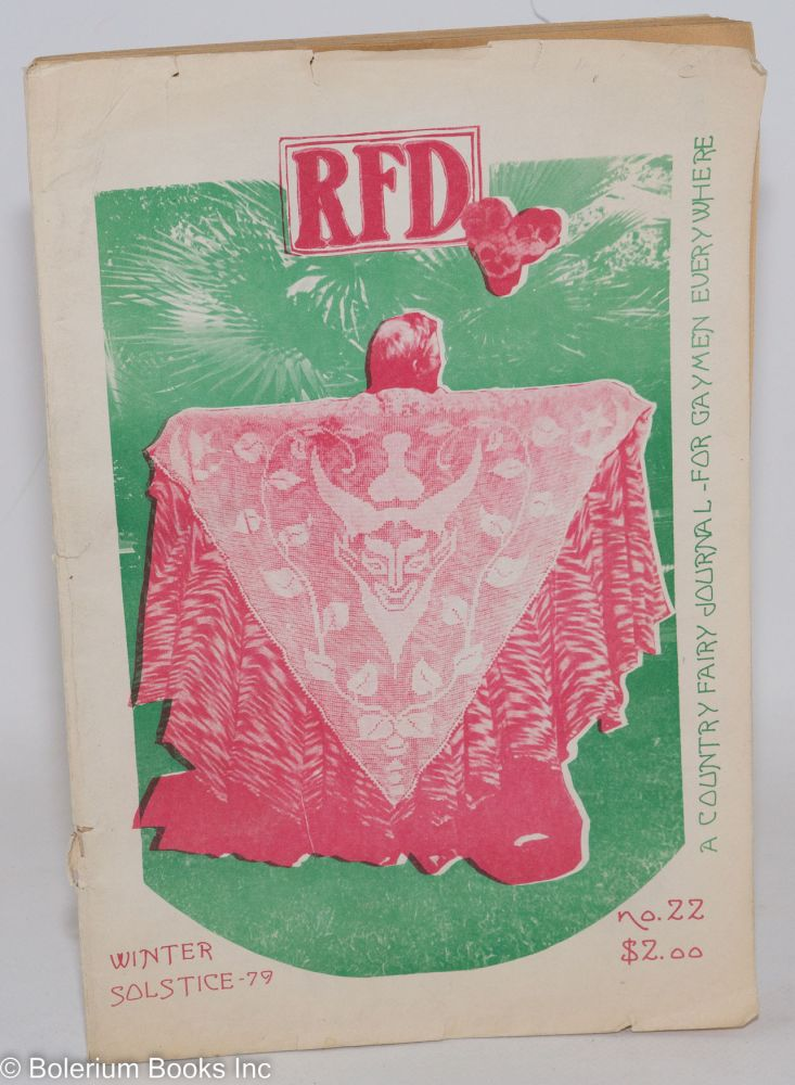 RFD: a country journal for gay men; #22, Winter Solstice, 1979
