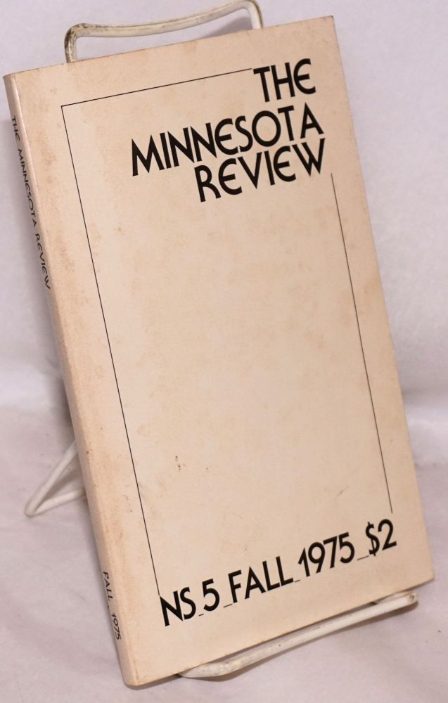 The Minnesota Review, Special Supplement: The Marxist Alternative to the Traditions NS 5 Fall 1975
